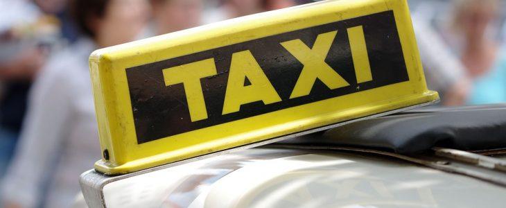 tabliczka taksówki
